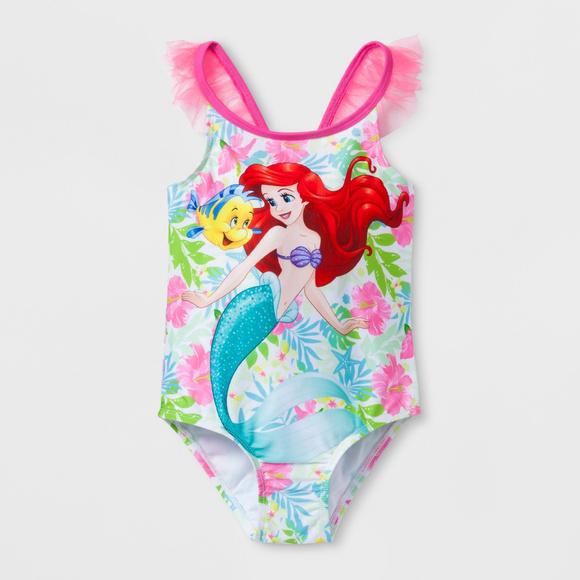 0b8b88c22d9ec Disney Swim | Little Mermaid Ariel Suit Toddler Girl | Poshmark